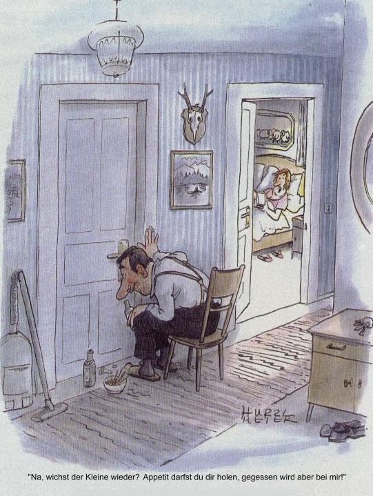 Hurzlmeier: Cartoon im Eulenspiegel, undatiert